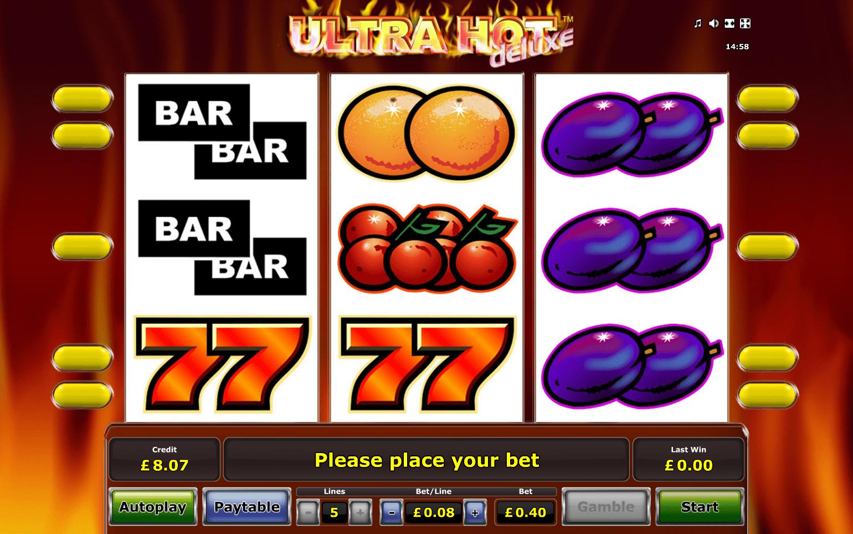 игровой автомат ultra hot deluxe бесплатно