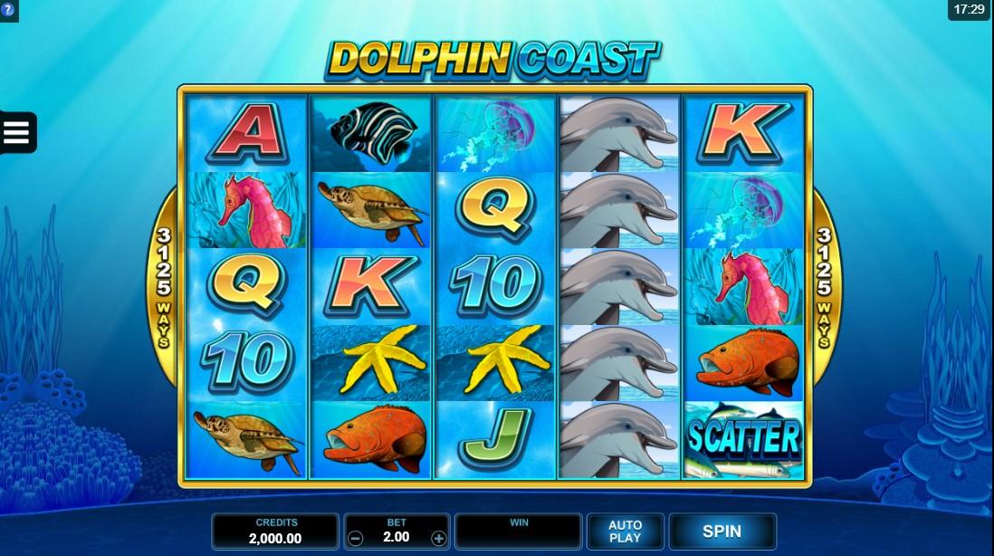 слот дельфин играть бесплатно