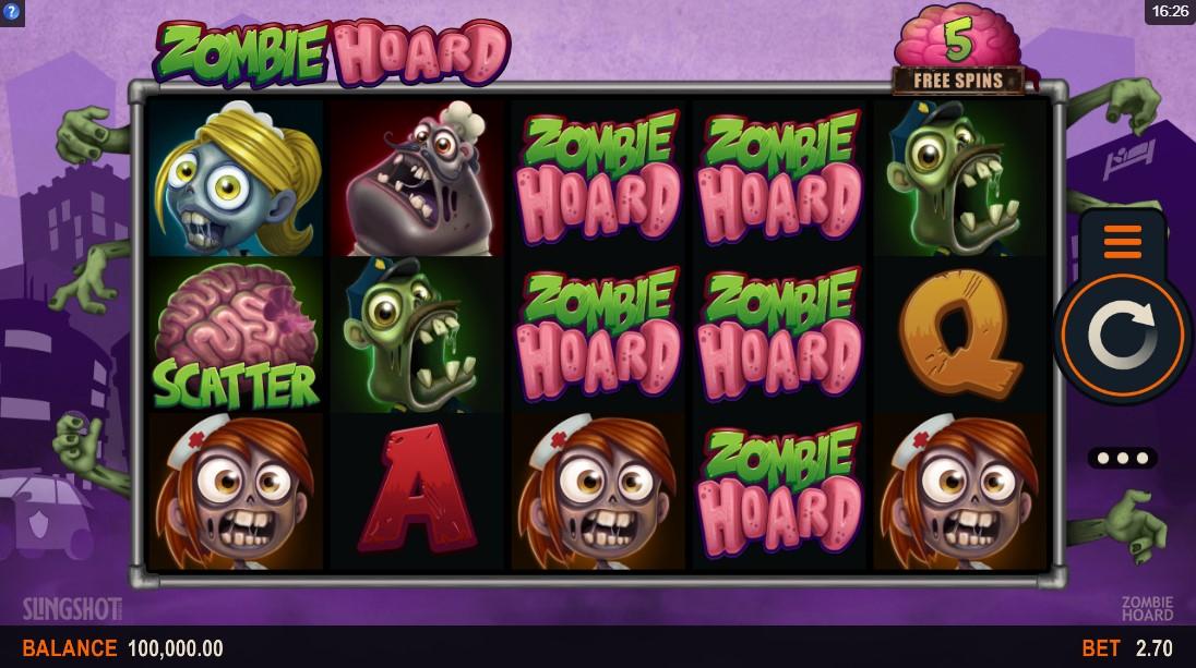 Игровой автомат zombies обзор